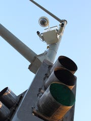 Cameras have been installed on traffic lights in Moreno Valley.