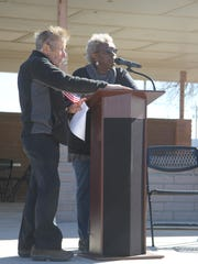 Bernita Smith-Payne, member of the Martin Luther King