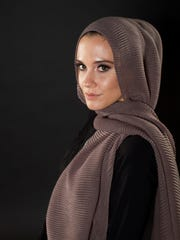 """Lisa Vogl grew up in East Lansing but now operates a """"modest fashion"""" clothing line in Orlando, Florida that's geared toward Muslim women."""