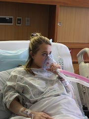 Laura Bruneel, a nurse in the Labor and Delivery department,