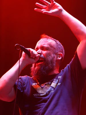 Clutch performs at the 2018 Beale Street Music Festival on Friday, May 4.