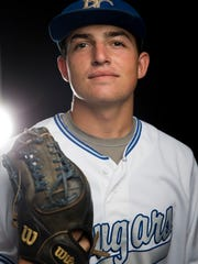 Barron Collier baseball player Nick Denove.