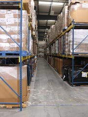 The new warehouse will allow Matthew 25 Ministries to stack donations higher and make it easier to locate and access items in storage.