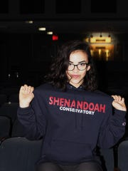 Camilla Calderon plans to study theater at the Shenandoah