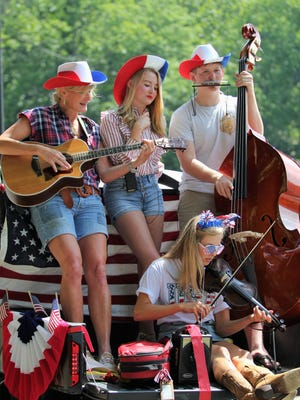From parades to dances to fireworks displays, several events in the Swannanoa Valley were held to celebrate Independence Day on July 4, 2018.