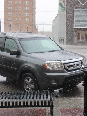 Small, soft, hail balls mixed with rain pelted Pratt's Main Street on Monday, May 11, bringing an end to a looming drought designation with more than 3 inches of precipitation measured in some areas. Kiowa County and Stafford County also received measurable amounts of rain.