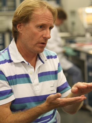 Algenol CEO Paul Woods is having difficulty hiring qualified local candidates. A study of 100 metro areas ranked the Fort Myers/Cape Coral 94th for science, technology, engineering and mathematics jobs.