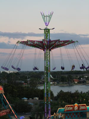 The entertainment was plentiful during the annual Coconut Festival Friday night in Cape Coral. Amusement rides, multiple food vendors, fireworks, children's games, live music and contests were among the festivities. The event continues Saturday 12 noon-12 a.m. and Sunday 12 noon-9 p.m.