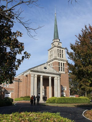 First Presbyterian Church in Jackson is part of the Presbyterian Church USA, which has decided to allow gay marriages at the discretion of local congregations. John White, pastor of First Presbyterian, has said he opposes gay marriage but has called for his church to be united in Christ rather than divided over the issue of gay marriage.
