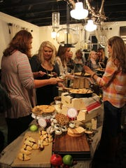 Tin Cottage's first workshop, held last month, was a pie party workshop.