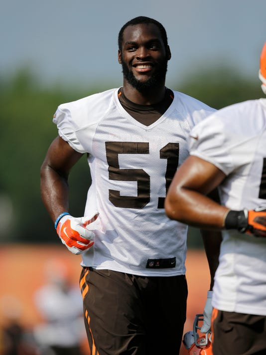 Browns Camp Football (2)