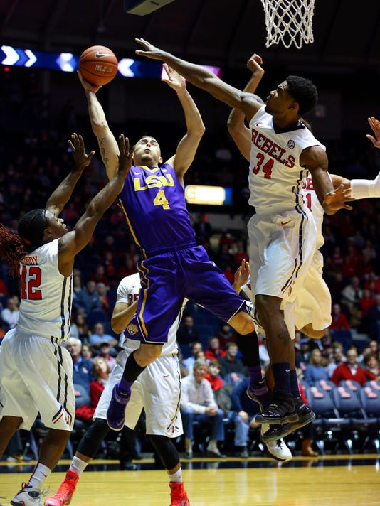 NCAA Basketball: Louisiana State at Mississippi