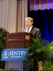 Pete McPartland serves as chairman of the board, president and chief executive officer for Sentry Insurance.