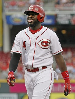 Reds win on Frazier's grand slam in 13th inning