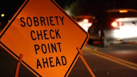 NM State Police will conduct sobriety checkpoints throughout the month of January