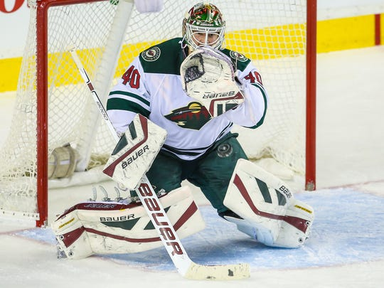 Minnesota Wild goalie Devan Dubnyk compiled a 2.07