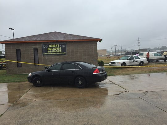 Two people were found dead at Coach's Bail Bonds on Arizona Street in Monroe.