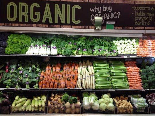 How important is organic, vegan or vegetarian cooking?