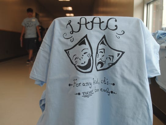 Shirts handed out to students and volunteers for the