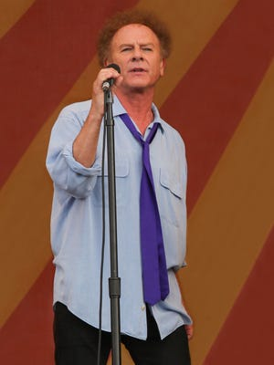 Art Garfunkel will perform selections from his tenure with Simon and Garfunkel, as well as songs from his solo albums.