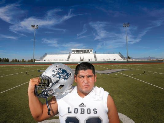 Brayan Estrada is a lynchpin on Mountain View's offensive and defensive lines.