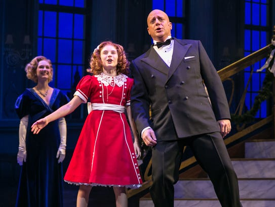 "This is the last weekend of ""Annie"" at Paper Mill Playhouse"
