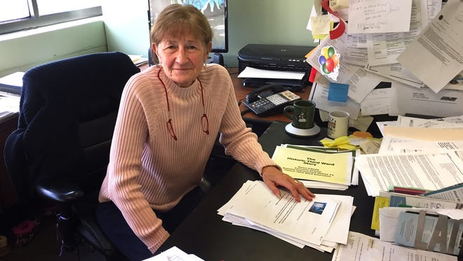 Nancy O'Keefe is retiring as executive director of the Historic Third Ward Association. She has worked there since 1996 and has seen the neighborhood's transformation from obsolete industrial buildings to housing, offices, restaurants, stores and other new uses.