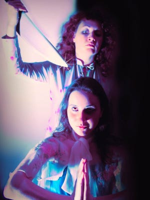 """Lauren Bickers (Mrs. White) hovers over her daughter Carrie (Meredith Deighton) in the Ringwald's  """"Are You There God? It's Me, Carrie."""""""