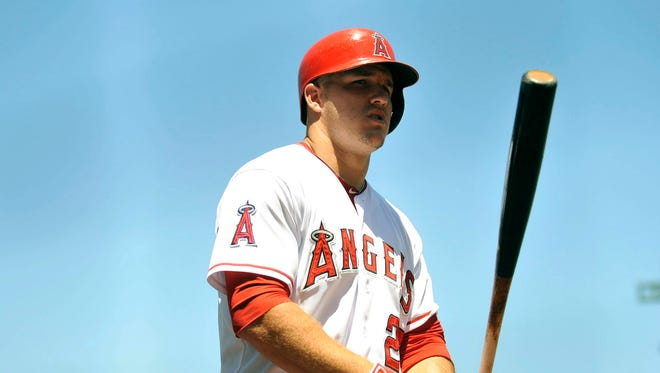 Mike Trout leads the majors with 31 homers.