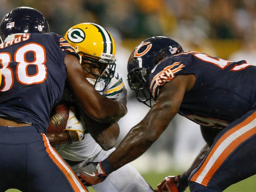 Bears LB Danny Trevathan: Suspended two games for helmet-to-helmet