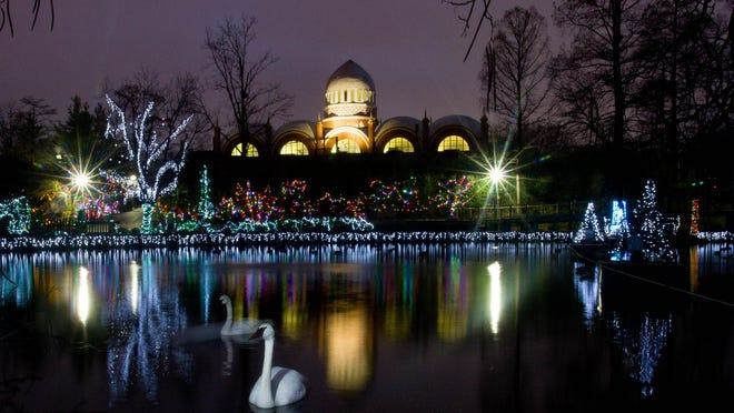 Cincinnati Zoo & Botanical Garden's PNC Festival of Lights.