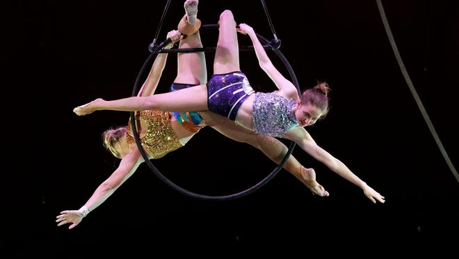 The student-run FSU Flying High Circus swings back into action at 7 p.m. Friday and 2 p.m. Saturday..