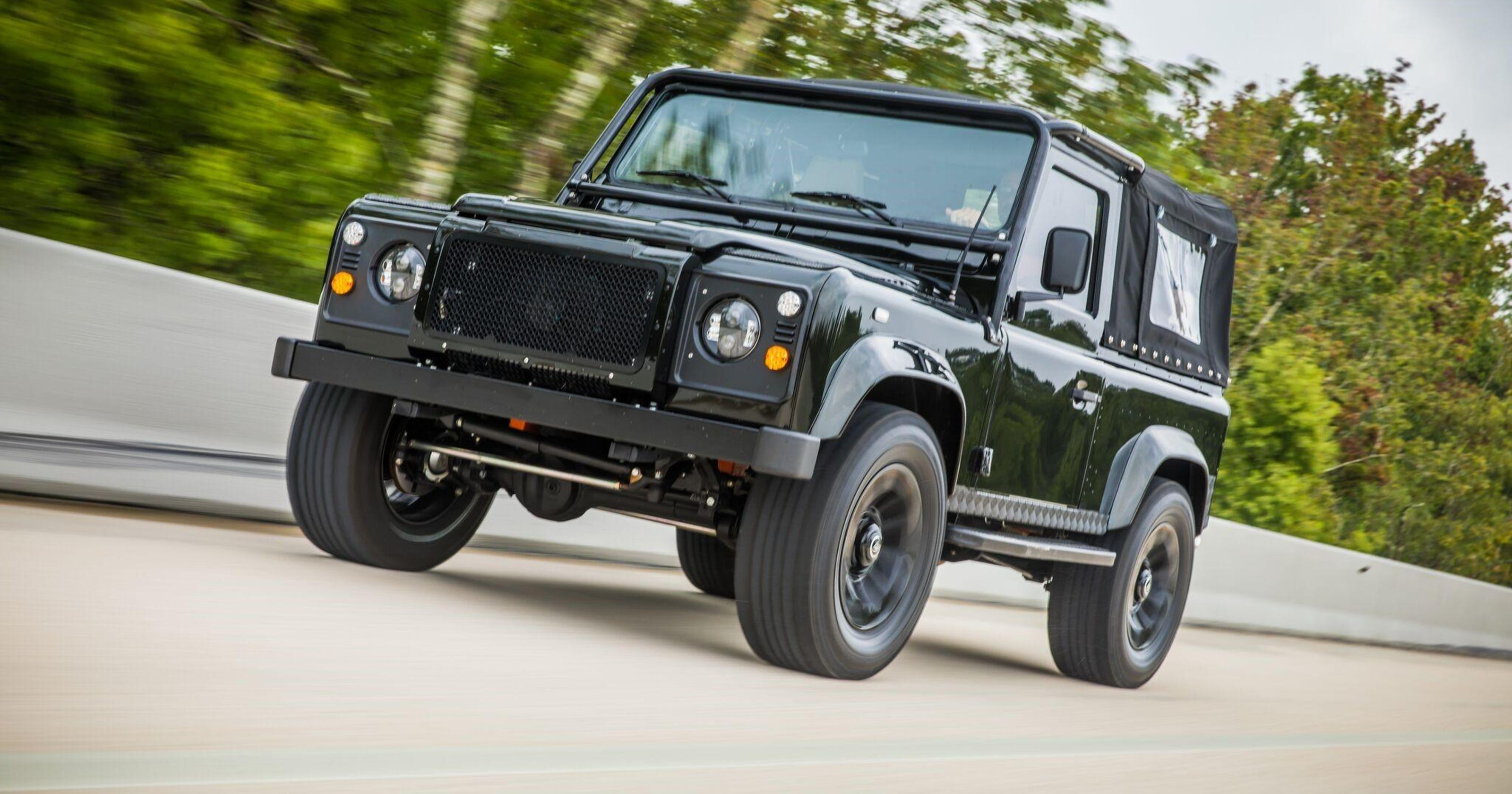 Land Rovers get heart transplants from Chevy V-8s