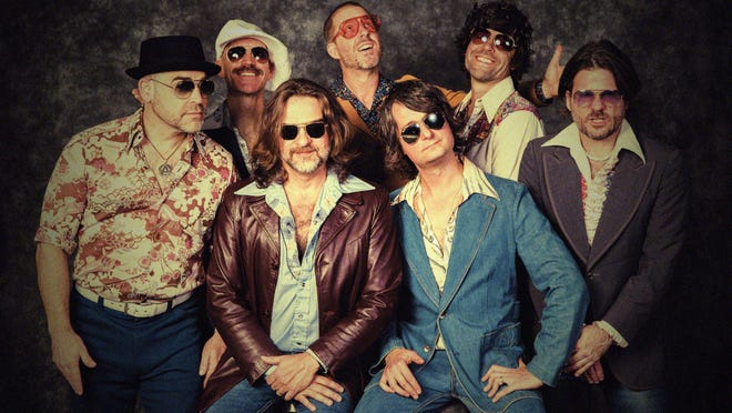 Yacht Rock Revue will play an outdoor concert Friday night at the Yarmouth Drive-In on Cape Cod in West Yarmouth.