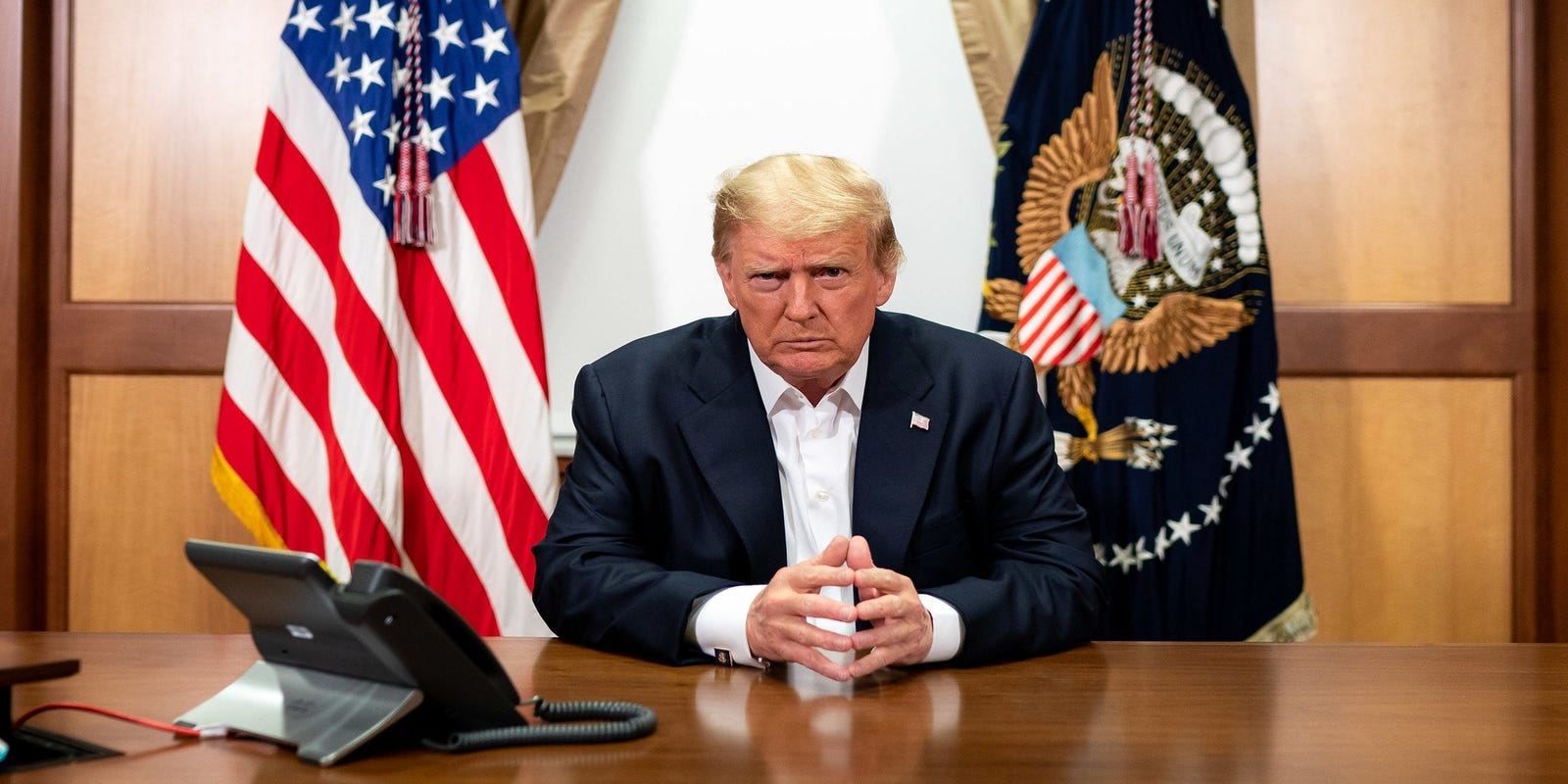 Fact check: Fake Trump quote about battling coronavirus, his body