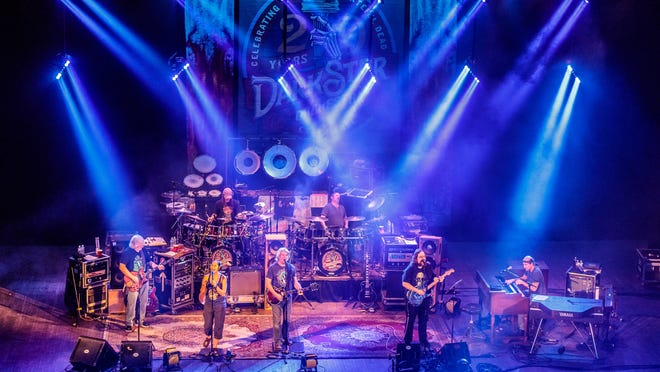 Dark Star Orchestra, a Grateful Dead tribute band, will perform Friday and Saturday at the Yarmouth Drive-In on Cape Cod