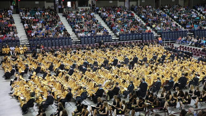 Topeka Unified School District 501 graduated 846 students, or 81.7% of seniors, in May.
