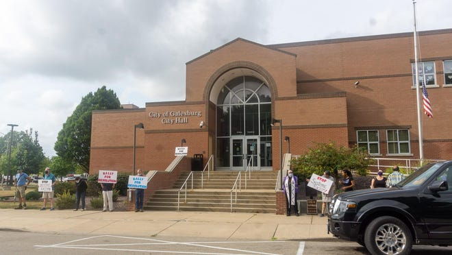 On Monday evening, the NAACP held a rally in support of condemning racism in the city of Galesburg.