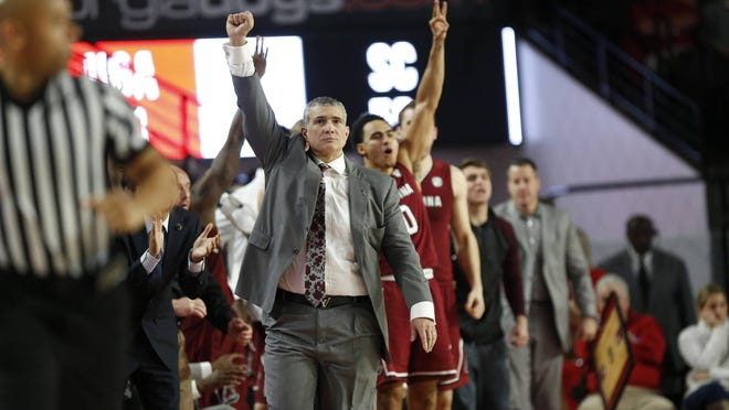 South Carolina coach Frank Martin has revealed he tested positive for Covid-19 last month.