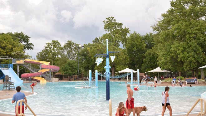 Blaisdell Family Aquatic Center in Gage Park is one of six county pools that will open Monday at 50% capacity.