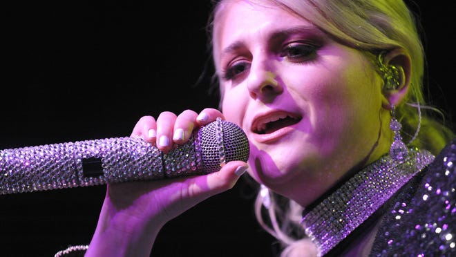Meghan Trainor performs Monday at Saint Andrew's Hall in Detroit.