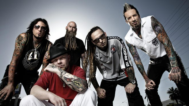 Five Finger Death Punch will perform at 8:30 p.m. at Municipal Auditorium.