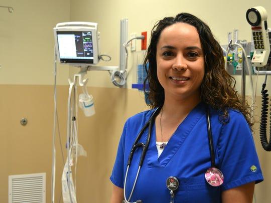 Amanda Walker, a nurse at Rapides Regional Medical Center.
