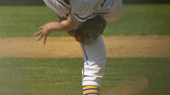 Adam Laskey struck out six and scattered five hits to beat rival Haddonfield