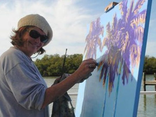 Tara O'Neill, award-winning artist, community activist, and devout Floridian.