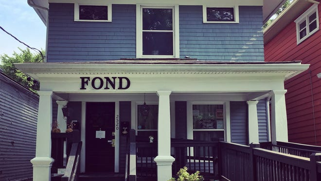 The exterior of Fond, 2520 Frankfort Ave.