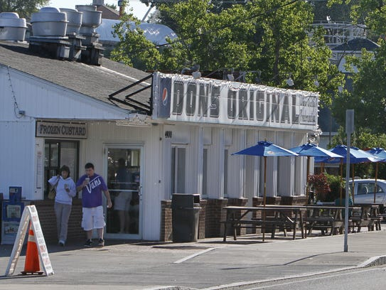 Don's Original is a fan favorite for hot dogs.