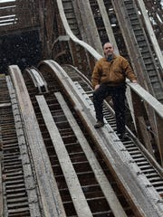 """Jeff Gramke, manager of facilities, engineering and construction at Kings Island, is considered the """"Father of The Beast."""""""