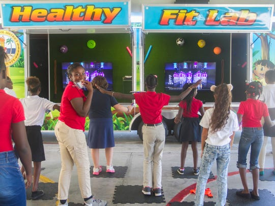 The Lee County School District's Healthy Fit Lab lets