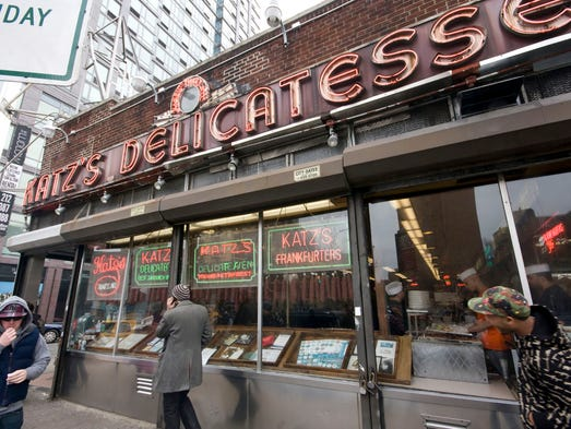 1. Katz's Delicatessen, New York: Iconic Katz's Delicatessen is arguably one of the best-known and best-tasting Jewish delis in all of the U.S. It opened its doors in 1888, originally serving many of the immigrant families who landed in New York on the Lower East Side. What you must try when dining at Katz's is either its corned beef or pastrami sandwiches or platters. The meat is cured using a slow-cook method without injecting chemicals, water or any other additives to speed up the process. While it may take up to 30 days to cure the meat, the final product is well worth it, making this deli a standout in the community.